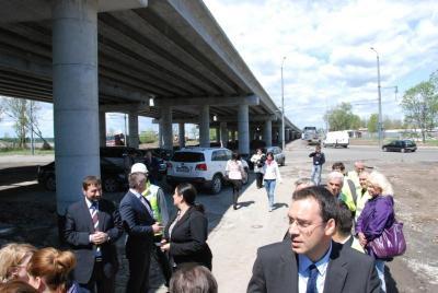 Пътното съоръжение ще бъде завършено 103 дни по-рано от предвидения по договор срок.  Снимка Община Бургас
