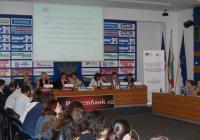 Дейностите по трите позиции, попадащи в обхвата на договора, бяха представени на пресконференция в столицата. Снимка МТИТС