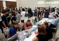Много бъдещи студенти търсят информация за обучение в чужбина на изложението. Снимка europeaneducationfair.com (архив)