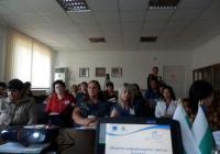 Информационното събитие предизвика интереса на жителите на Куклен. Снимка ОИЦ - Пловдив