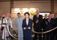Министърът на здравеопазването Десислава Атанасова преряза лентата. Снимка Международен панаир - Пловдив