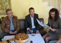 """Гостите от Турция се срещнаха с кмета на пловдивския район """"Западен"""" Десислава Желязкова. Снимка Район """"Западен"""""""