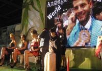 Двукратният шампион Анджело Фраска представи шоуто си пред многобройна публика в Панаира. Снимка Международен панаир - Пловдив