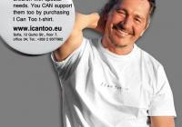 Антони Христов се снима с тениска на инициативата и застава зад идеята заедно със своето семейство. Снимка Juliana Melnishki