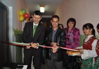 Заместник-кметът Георги Титюков преряза лентата. Снимка Община Пловдив