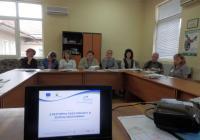 "Схемата ""Енергийна ефективност и зелена икономика"" бе сред акцентите на срещата. Снимка ОИЦ - Пловдив"