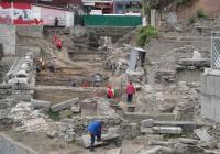 Археолозите очакват да се натъкнат на още ценни находки при мащабните разкопки на Форума. Снимка Aspekti.info