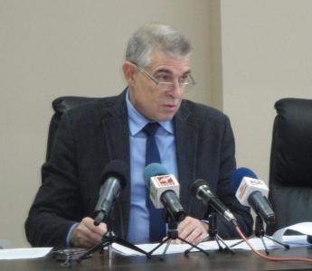 Илко Николов обобщи резултати от работата през второто шестмесечие от мандата на местния парламент.  Снимка Aspekti.info