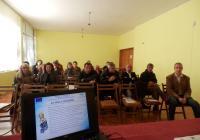 Информационният семинар в Кричим събра представители на широката общественост, неправителствени организации, бизнеса, земеделски стопани, местната власт, медии. Снимка ОИЦ - Пловдив