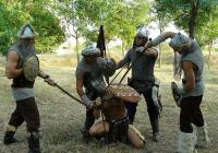 """Древни бойни сцени оживяват пред очите на посетителите. Снимка Фейсбук страница на """"Бага-Тур"""""""