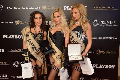 Мелиса, Силвия и Гентиана (отляво надясно) заеха съответно трето, първо и второ място в конкурса.