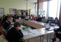 Близо 50 представители на професионалните гимназии и училищата от Пловдив и областта, експерти, бизнесмени и неправителствени организации от сферата на професионалното образование дойдоха на семинара. Снимка ОИЦ - Пловдив