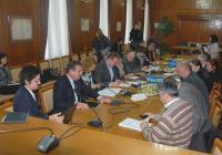 На срещата е съгласуван текст на споразумение, което възможно най-бързо ще бъде внесено в общинските съвети на четирите града. Снимка Община Бургас