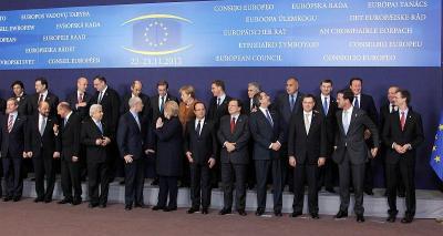 Ръководителите на държавите - членки на ЕС, ще дебатират за бъдещия бюджет на общността.  Снимка МС