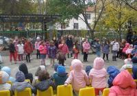 С участието си в проекта малчуганите получиха първи уроци по екологично възпитание. Снимка Община Пловдив