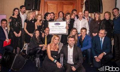 Истинско съзвездие от родни знаменитости блесна на благотворителното събитие.  Снимка plabo.net