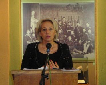 Райна Петрова отчете свършеното през първата година от втория си мандат като районен кмет.  Снимка Aspekti.info