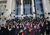 Випуск 2012 на Университета по хранителни технологии в Пловдив отпразнува дипломирането си. Снимка УХТ - Пловдив