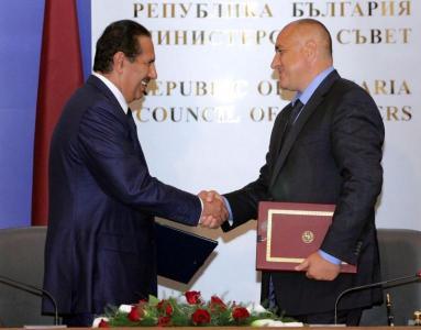 Двамата премиери се видяха отново месец и половина след срещата им в Доха.  Снимка Пресслужба на Министерски съвет