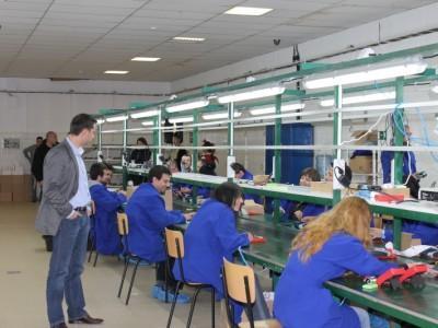 Новото производство ще гарантира работа на 120 души.  Снимка МИЕТ