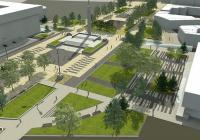"""Емблематичният площад ще придобие изцяло нов облик след реконструкцията. Визуализация <a href=""""http://www.burgas.bg/"""">Община Бургас</a>"""