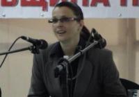 Десислава Желязкова пожела на хората, които се грижат за най-малките, да са всеотдайни. Снимка Aspekti.info (архив)