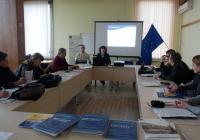В рамките на семинара бе дадена информация за следващия програмен период 2014-2020 година, както и за приоритетите в бъдещата кохезионна политика и оперативните програми в България. Снимка ОИЦ - Пловдив