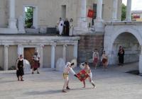 Гладиаторският бой бе почти като истински. Снимка Aspekti.info