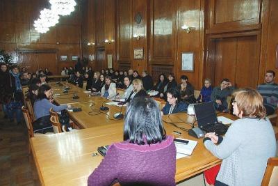 Всяка година общината организира специална родителска среща.  Снимка Община Бургас