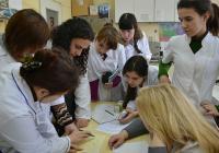 Практическото обучение на гостите бе по хляб и хлебопекарни производства. Снимка УХТ - Пловдив