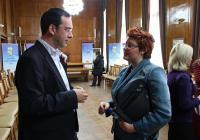 Новоучредената асоциация бе подкрепена и от най-младата българка, излагала в Лувъра и Народния музей във Варшава - Мирела Караджова.  <p>Снимка Милица САВАНОВИЧ</p>