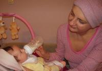 Анна с малката Рая