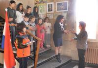 Ученици от Житница и техните  учителите организираха символичен открит урок по история.