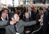Посетителите ще имат възможност да изпробват своите умения в стрелба с лък и въздушна пушка.  Снимка Международен панаир - Пловдив