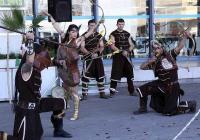 Изложбата започна със  спектакъл, пресъздаващ бойните техники и умения на прабългарите.  Снимка Международен панаир - Пловдив