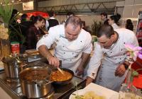"""Кулинарни атракции съпътстват всяка година изложението """"Фудтех"""" в Пловдив.  Снимка Международен панаир"""
