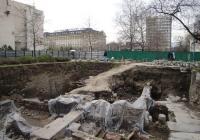 Археологическите разкрития ще бъдат вписани в проекта за обновяването на централния пловдивски площад. Снимка © Aspekti.info