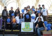 Градскатата експедиция за наблюдение на птици в Пловдив привлече много ученици на Гребната база. Снимка Община Пловдив