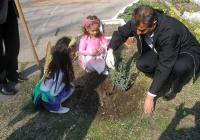 Малчуганите ще се учат да садят фиданки и да се грижат за тях. Снимка Община Пловдив