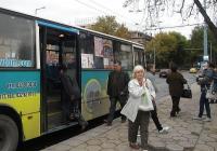 Маршрутите на две от автобусните линии ще бъдат променени за няколко часа. Снимка © Aspekti.info (архив)