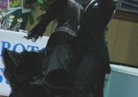 """Асът на пловдивския клуб Коста Каракашян и партньорката му от """"Импулс"""" (Велинград) Даниела Макнева станаха шампиони в клас 18В+В на стандартни танци. Снимка """"Темпо нюз"""""""