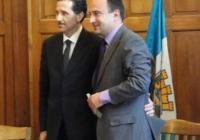 Микеле Виола (вляво) и Стефан Стоянов заявиха готовност за съвместна работа между италианските консултанти и община Пловдив и за в бъдеще. Снимка © Aspekti.info