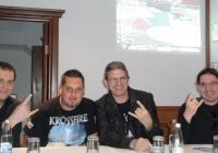 Димитър Михов, Спас Марков и Владислав Ботев (отляво надясно) разказаха за програмата и целите на фестивала. Снимка © Aspekti.info