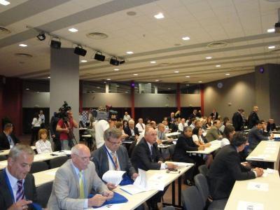 Деловото събитие бе открито при пълна зала.  Снимка Aspekti.info