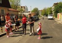 """Обновените улици бяха официално открити на 30 април. Снимка Район """"Западен"""""""