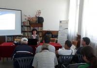 Форумът се проведе в читалището на двехилядното подбалканско пловдивско село. Снимка ОИЦ - Пловдив
