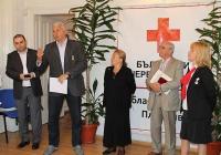 """""""Винаги можете да разчитате на мен, насреща съм за всяко едно начинание"""", увери Здравко Димитров деятелите на БЧК."""