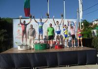 """17-годишният пловдивчанин спечели безапелационно по 91-километровото трасе на общия старт. Снимка """"Темпо нюз"""""""