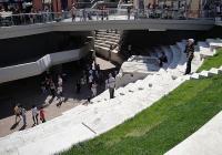 Вторият етап от реконструкцията ще преобрази терасата на Римския стадион. Снимка © Aspekti.info