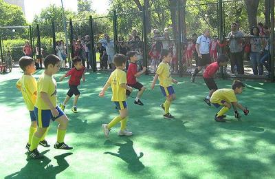 """Всички мачове се изиграха на детско футболно игрище """"Тракия"""""""